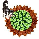 AEITPET Alfombra Olfato Perro Mat Mascotas, Snuffle Mat para Perros Alfombrilla, Juguete de Inteligencia para Perros, Lavables a Máquina, Plegable Aviliable, Alimento Alfombra de Juego