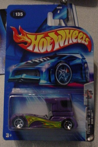 Hot Wheels Semi-Fast 3/5 Final Run 2004 #135 1:64 Scale