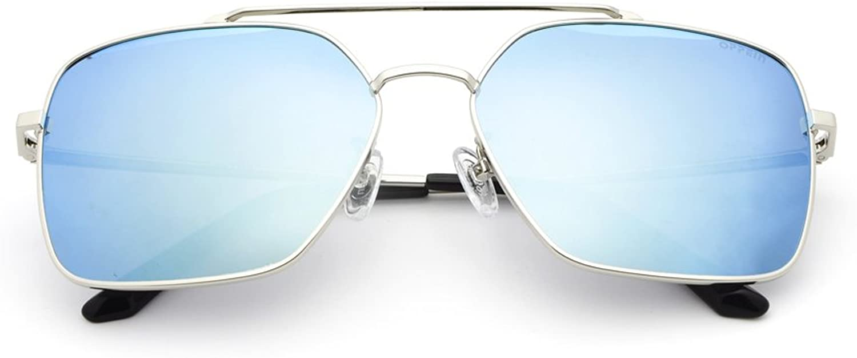 TIANMOU UV 400 Lens Predection Sunglasses for Men Women Aviator Polarized Metal