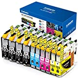 Galada Compatible Ink Cartridges Replacement for Brother LC103 LC103XL LC101 LC101XL Ink Cartridges for MFC-J870DW J470DW J475DW J4310DW J4410DW J4510DW J4610DW J4710DW J875DW J450DW Printer 10Pack