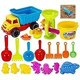 Winni43Julian Sandspielzeug Kinder 21 Stück Strand Spielzeug Sandstrand Strandspielzeug Strand-Werkzeuge