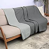 Catalonia Waterproof Blanket for Couch, Reversible Waterproof Sofa Cover, Bed Coverlet Protector | Washable, Leak Proof, Comfortable | for People and Pets