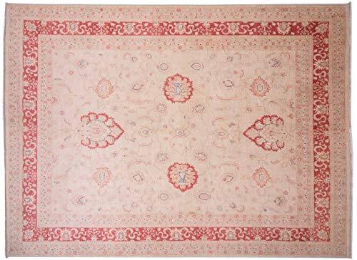 Teppichprinz Feiner Chobi-Ziegler Farahan 339x251cm Orientteppich Handgeknüpft Afghanistan Carpet Rug