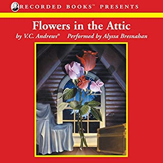 Flowers in the Attic audiobook cover art