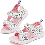 Ataiwee Toddler Girl's Outdoor Sandals, Sport Open Toe Casual Summer Shoes (Toddler/Little Kid).(2009001-2,WT/UN,12)