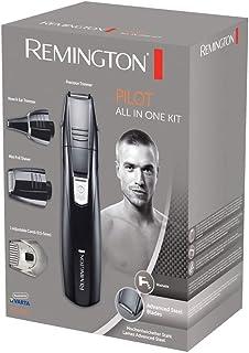 Remington Grooming Kit PG180 - Set Máquina de Afeitar, 3 Cabezales y 1 Peine, Cuchillas Acero Avanzado, Negro, Accesorios ...