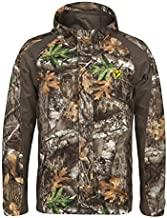 Scent Blocker Drencher Waterproof Hooded Hunting Camo Jacket for Men (RT Edge, X-Large)