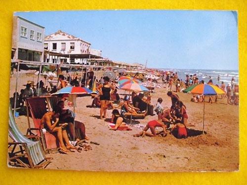 Antigua Postal - Old Postcard : La Playa, Centro - GUARDAMAR DEL SEGURA (Alicante)