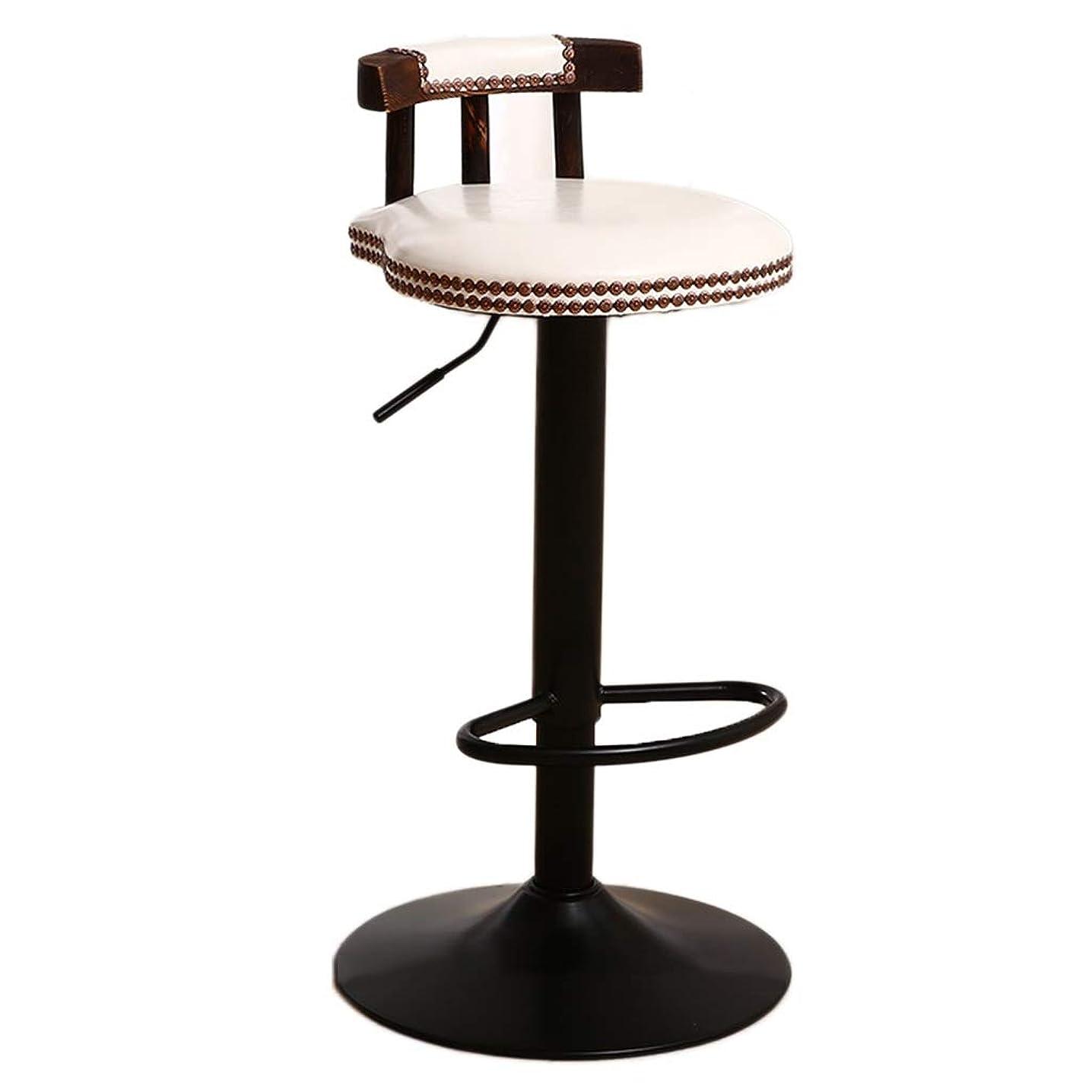 ベーシック勇気のあるハックTGGyong ハイスツール、ウィローネイルクリエイティブチェアファッションバーチェア衣料品店の椅子会社レセプションデスクチェア ユニーク (Color : C, Size : 38.5*38.5*60-80cm)