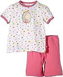 Schiesser Mädchen Md Kurz Zweiteiliger Schlafanzug, Weiß (Weiss 100), (Herstellergröße: 140)
