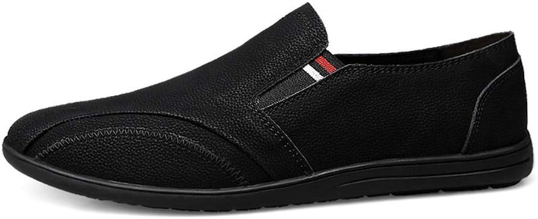 Men's Leather Driving shoes, Non-Slip Oxford shoes