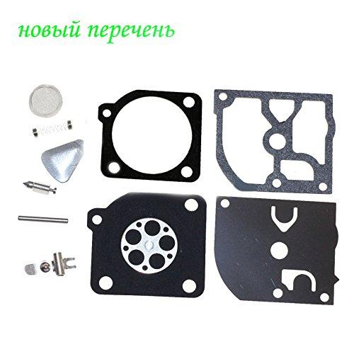 Kit ricostruzione carburatore per Jonsered 2041 2045 2050 RS44 Husqvarna 45 49 51 55 trimmer 240R 245R Sega a catena Zama RB-45