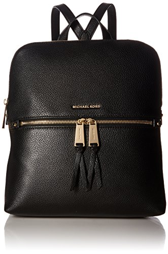 MICHAEL Michael Kors Rhea Zip Medium Slim Backpack Black One Size