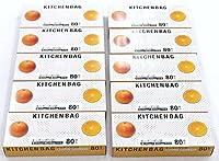 キッチンポリ袋 80P 【まとめ買い10個セット】 7-79-09