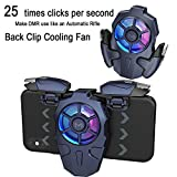 GOFOYO AK03 PUBG Mobile Controller,25 Shots per Second,Mobile Gaming Controllers for PUBG/Fortnite/Cod,Gaming Grip and Gaming Joysticks for Android and iOS Phone