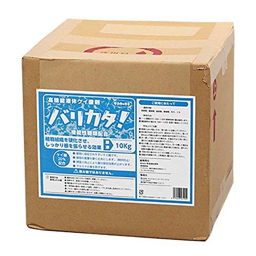 バリカタ! 10kg 高機能ケイ酸液肥 液体肥料 サカタのタネ サT 代不