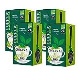CUPPER Té Verde Bio, 20 Bolsas (4 X 20 Bolsas) 380 g