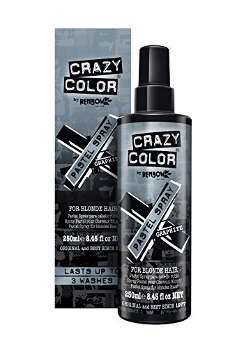 Crazy Color Pastel Spray 250ml - Graphite