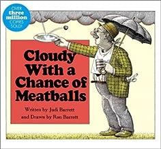 By Judi Barrett Cloudy With a Chance of Meatballs (Classic Board Books) (Brdbk) [Board book]