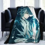 Gin - Hotarubi No Mori E Ultra-Soft Micro Fleece Blanket Warm Flannel Throw Blanket Plush Couch Bed for Home Decor 60'X 50'