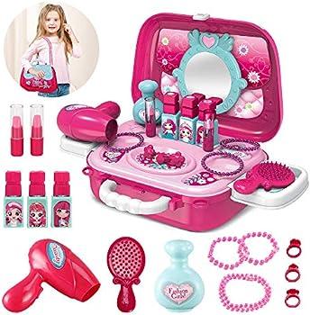 Pickwoo Pretend Makeup Setwith Complete Makeup Salon for Girls