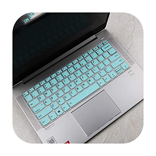 for Lenovo Ideapad Flex 5 14 14IIL05 14ARE05 14ada05 14iml05 14iil05 14'' 2020 AMD Silicone laptop Keyboard Cover Protector-whiteblue