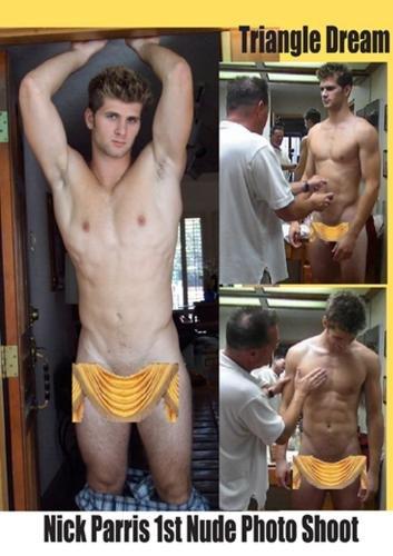 Nick Parris 1st Nude Photo Shoot