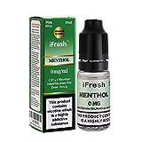 iFRESH 5 X 10ml E-<span class='highlight'>Liquid</span>s l MENTHOL Flavour l Zero Nicotine l Vape Juice l 0 mg Nicotine Free l New Premium Quality Formula with Only High-Grade Ingredients VG & PG Mix