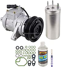 AC Compressor & A/C Kit For Jeep Wrangler TJ 4.0L 2000 2001 2002 2003 2004 2005 2006 - BuyAutoParts 60-80151RK New