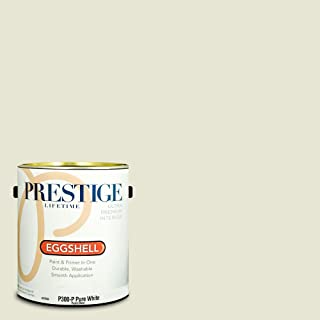 Prestige Paints Interior Paint and Primer In One, 1-Gallon, Eggshell,  Comparable Match of Benjamin Moore Rock Candy