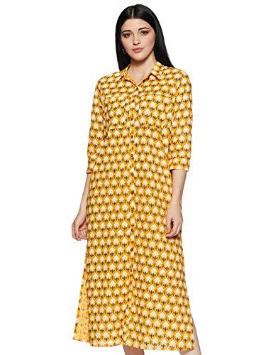 Amazon Brand – Myx Women's Cotton Kurta Dress