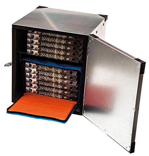 Pizza Box in polipropilene espanso con coperchio X 410/X 410/X 400/mm 41/litri Contenitore termico