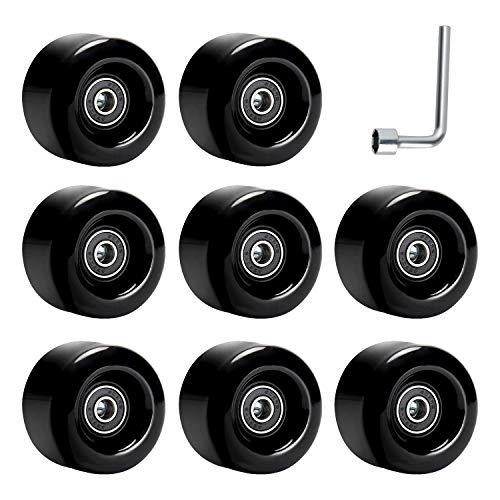 death blackred 55mm skateboard wheels