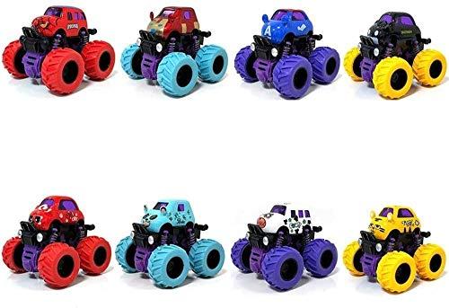Control remoto Coche de juguete Autobús para niños Coche de juguete Aleación de resistencia al terremoto Coche Tracción en las cuatro ruedas Off-Road Modelo de automóvil de inercia para regalos de 3-