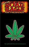 Road Rage Marijuana Leaf Air Freshener