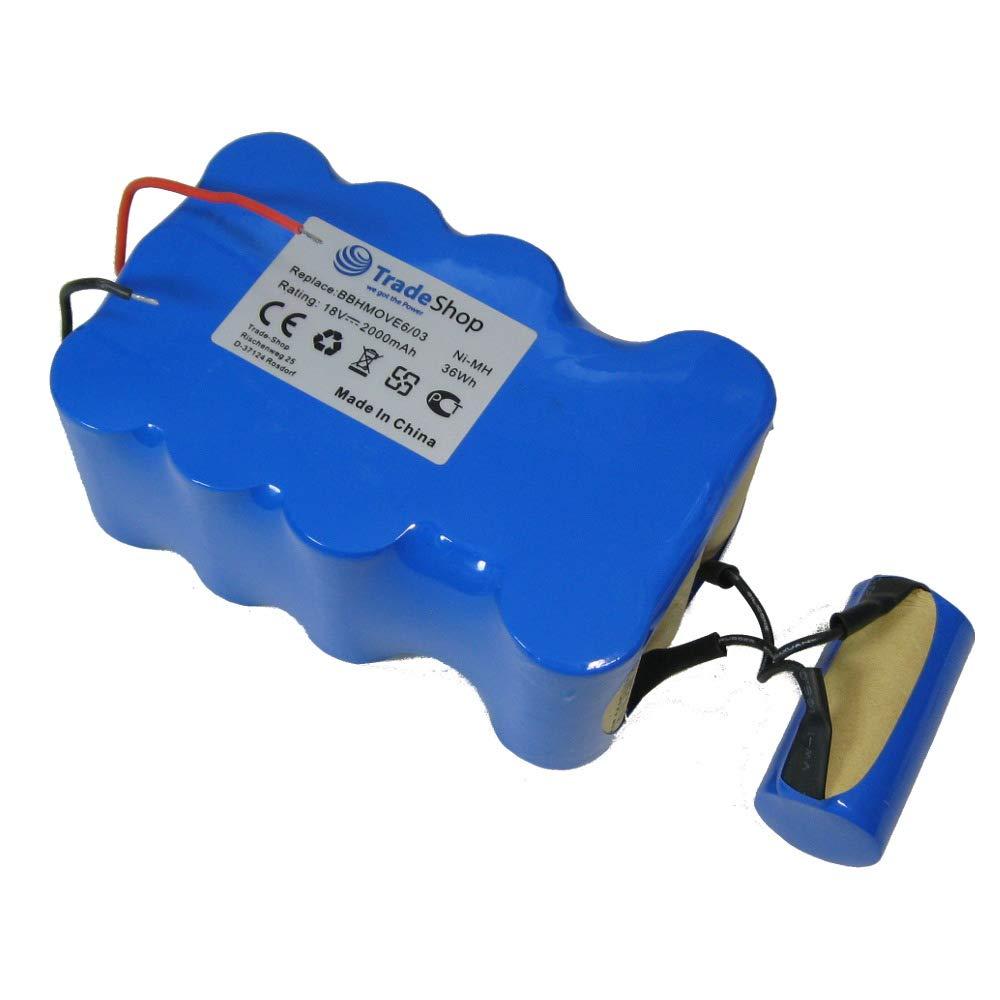 Trade Shop Premium – Batería de Ni-Mh, 18 V/2000 mAh/36 Wh ...