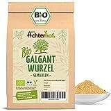 Galgant Pulver Bio (100g) Galgantwurzel gemahlen aus kbA vom-Achterhof