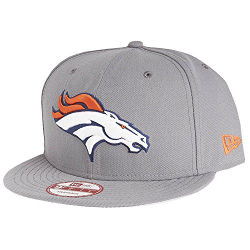 New Era 9Fifty Snapback Cap - Denver Broncos Storm grau