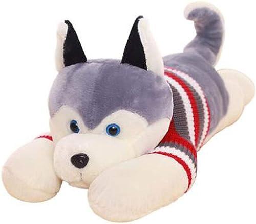 Unbekannt Husky Puppe Hund B Plüschtier Puppe niedlich Puppe faul Schlafkissen (Größe   5cm)