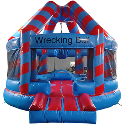 Lowest Price! Sayok PVC Inflatable Wrecking Ball (18'L x 15.58'W x 12.68'H) with Air Blower Inflatab...