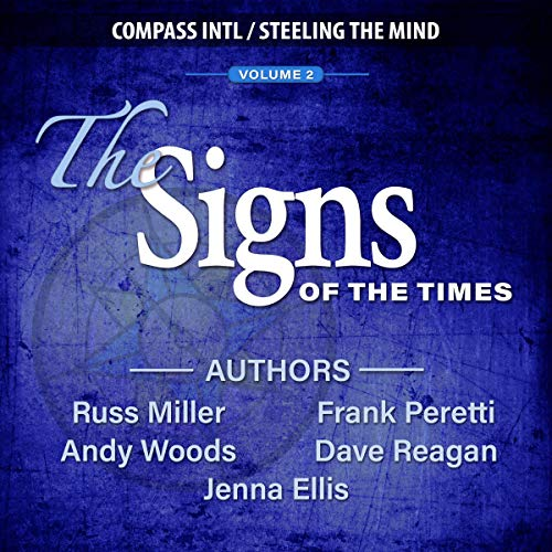 The Signs of the Times: Volume 2                   By:                                                                                                                                 Frank Peretti,                                                                                        Andy Woods,                                                                                        Jenna Ellis                               Narrated by:                                                                                                                                 Dave Reagan,                                                                                        Frank Peretti,                                                                                        Andy Woods,                   and others                 Length: 5 hrs and 42 mins     2 ratings     Overall 5.0