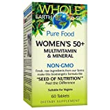 Whole Earth & Sea from Natural Factors, Women's 50+ Multivitamin & Mineral, Vegan, 60 tablets (30 servings)