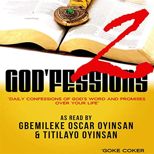 God'fessions 2 audiobook cover art