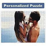 Puzzle Personalizado con tu Foto y Texto de 520/1000/1500 Piezas Regalo para Bebes Madres Bodas Parejas Rompecabezas Novios (520/pcs)