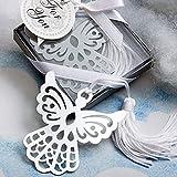 Lote de 26 Punto De Libro Angel Con Borla En Cajita - Recuerdos y detalles para invitados de Comuniones. Marcapáginas comunión.