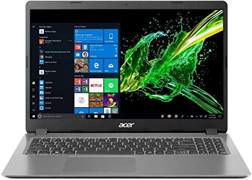 Acer Aspire 3 Laptop, 15.6' Full HD, 10th Gen Intel Core i5-1035G1, 8GB DDR4, 256GB NVMe SSD, Windows 10 Home, A315-56-594W (Renewed)