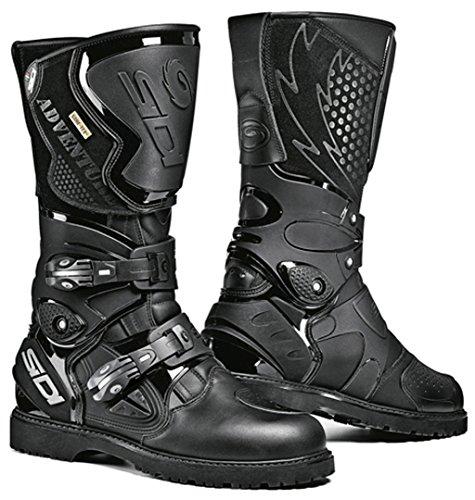 SIDI Adventure Gore Negro Moto Touring Botas + Libre Calcetines Nuevo