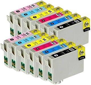 むさしのメディア EPSON(エプソン) IC6CL50x2 (6色セットx2) 互換インクカートリッジ ICチップ付き 残量表示対応