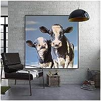 Bilder Wandmalerei für Wohnzimmer dekorative Plakate Wohnkultur Gemälde gedruckt auf Leinwand 12x12inch (30x30cm) x1Frame