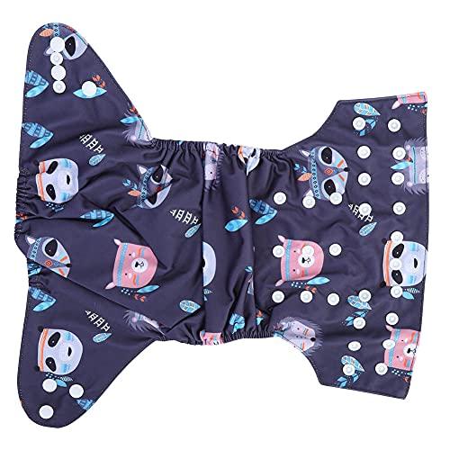 Taschenwindeln,Baby Stoffwindeln Verstellbare Waschbare Wiederverwendbare Babywindeln,Weiche und Bequeme Baby Stofftaschenwindeln(BL82)